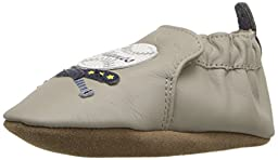 Robeez Champ Soft Sole Crib Shoe (Infant), Cool Grey, 18-24 Months M US