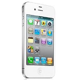 Apple iPhone 4 (MD440LL/A) - 8GB Smartphone - White - Locked Verizon CDMA (Certified Refurbished)