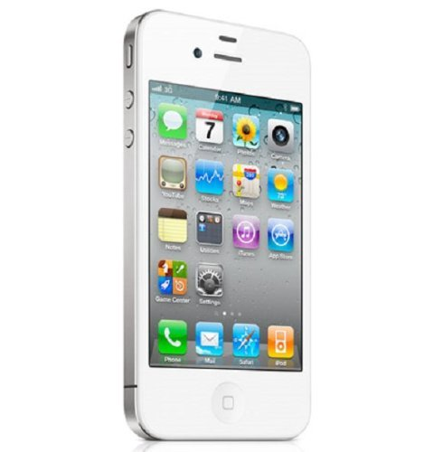 Apple iPhone 4s 8GB Unlocked Smartphone w/ 8MP Camera, White (Certified Refurbished)