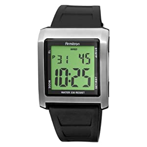 armitron sport s 408115blk chronograph
