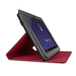 Belkin Verve Folio Case with Stand for Samsung Galaxy Tab 10.1-Inch (Black/Red)