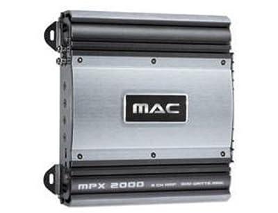 Mac Audio MPX 2000 - 2 Kanal Verstärker von Mac Audio - Reifen Onlineshop