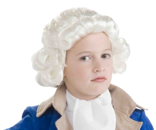 Forum Novelties Colonial Boy Child Wig, White