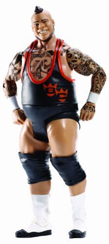 WWE Series #35 Superstar #66 Brodus Clay Figure - 1