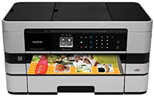 Brother Printer BusinessSmart MFC-J4610DW Wireless Color Photo Printer with Scanner, Copier and Fax
