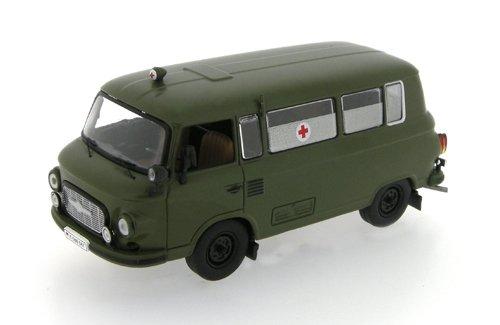 Barkas B1000 Ambulance Militär Arme Grün 1964 IST079 1/43 Ist Ixo Modell Auto