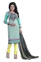 Khatushyam Textile Multicolour Crepe Dress Material Enhance Your Beauty