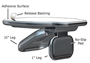 LapWorks Laptop Legs Easy to Apply Creates 2 ergonomic elevations that cool notebook (1 pair of legs)
