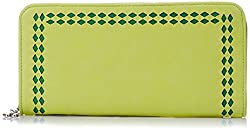 Butterflies Women's Clutch (Lime Green) (BNS 2335 LMGN)