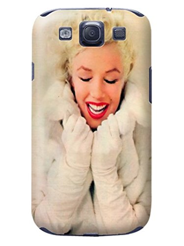 Fashion E-Mall Coolest TPU Logo Case Top Samsung Galaxy S3 Stars Marilyn Monroe Designer Cover
