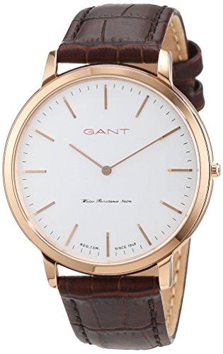 GANT TIME uomo-Orologio da polso al quarzo in pelle HARRISON W70606