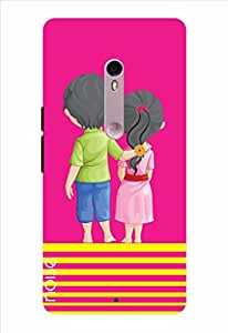 Noise Unbroken Bond-Magenta Printed Cover for Motorola Moto X Style