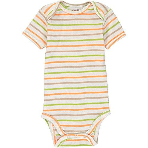 Wan-A-Beez 5 Pack Baby Short-Sleeve Bodysuits - Orange Lion - 24 Months