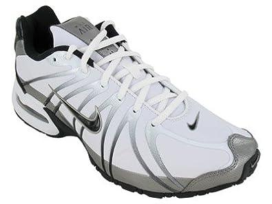 Nike Men's Air Max Torch 5 SL Running Shoes-White/Black-Mtlc Pewter-10