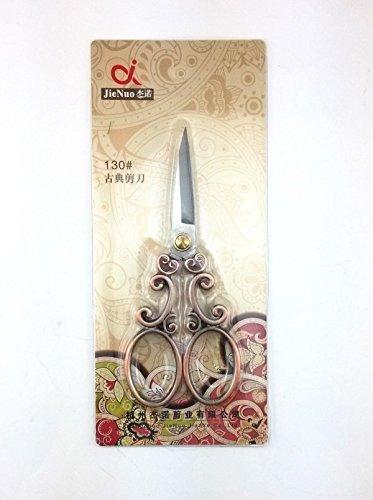 yueton Vintage European Style Needlework Embroidery Scissors (Copper) 5