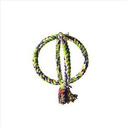 Small Interlocking Double Rope Swing