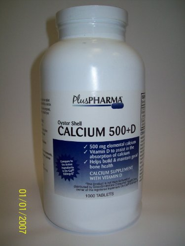 Oyster Shell Calcium 500Mg + Vitamin D 200Iu (Compare To Oscal 500Mg+D)