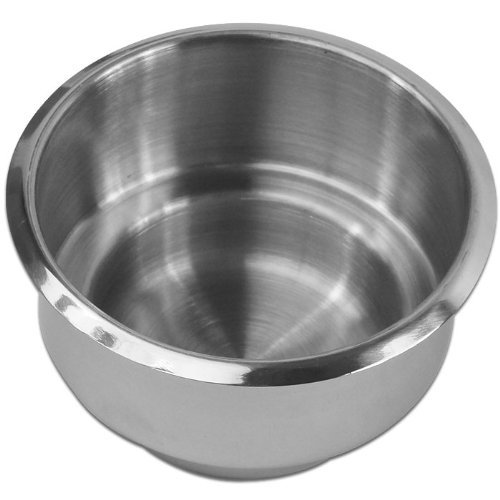 Trademark Poker Dual Size Jumbo Stainless Steel Cup Holder (Silver) by Trademark Poker