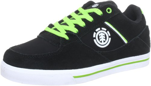 Element FREEMONT KIDS Trainers Boys Black Schwarz (BLACK GREEN 6347) Size: 3 (35.5 EU)