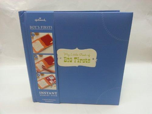 Hallmark 1KMK1001 My Little Book of Big Firsts - Boy