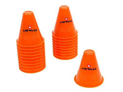 airwalk-set-de-20-cones-rouge-accessoires-skate-roller-rouge-taille-unique