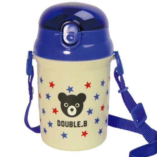 (ミキハウス)ダブルB DOUBLE.Bストローホッパー(水筒)ミキハウス 水筒