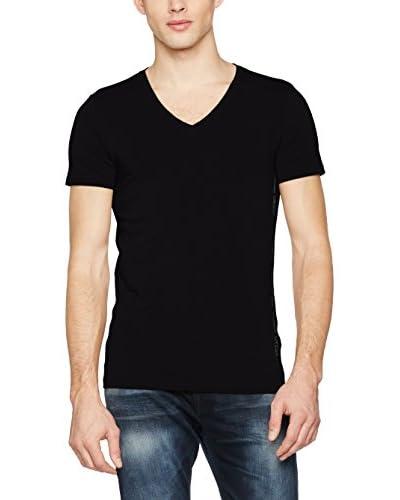 Guess T-Shirt Manica Corta Ss V Neck T [Bianco Ottico]