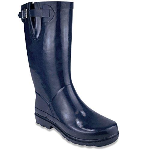 Sugar Women's Robby Rain Boot, Navy, 6 M US (Neoprene Rain Boot Liners compare prices)