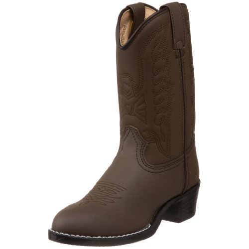 bargain durango bt804 lil brown emboss western boot