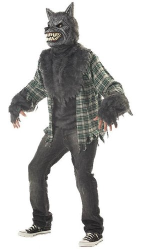 Full Moon Madness - Adult Wolf Costume