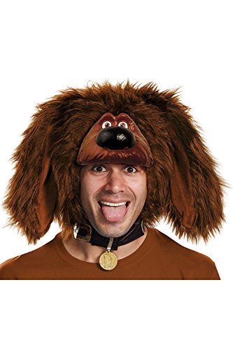 Unisex Adult Secret Life of Pets Duke Headpiece