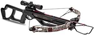 Parker BushWacker 150 Crossbow with Illuminated Red Sport Dot Optic