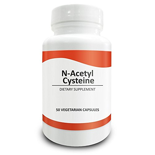 Pure Science N-Acetyl Cysteine 700mg - NAC Supplement with Highest Dosage in Amazon - Natural Immunity, Detox, Glutathione Production Support - 50 Vegetarian Capsules of N-Acetyl Cysteine powder (N Acetyl Cysteine 1000 compare prices)
