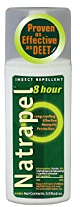 Adventure Medical Kits/Tender Corporation Natrapel 8 Hour deet free repellent 3.5 Ounce pump