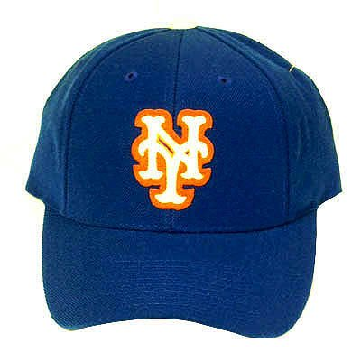 MLB OFFICIAL NEW YORK METS BLUE HAT CAP FITTED 7 3/4 at Amazon.com