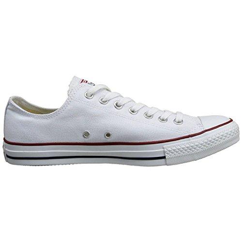 Converse Men's All Star LO OX Optic White 10