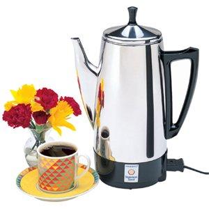 NATIONAL PRESTO INDISTRIES, Presto Coffee Maker (Catalog Category: Small Appliances / Home Appliances)