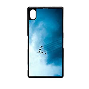 Vibhar printed case back cover for Sony Xperia Z2 FlyingJets