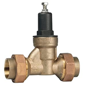 watts 11 2n45bdus double union water pressure regulator valve w. Black Bedroom Furniture Sets. Home Design Ideas