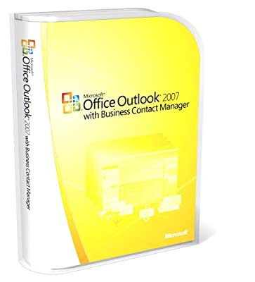 Microsoft Office Outlook 2007 with Business Contact Manager [Old Version]