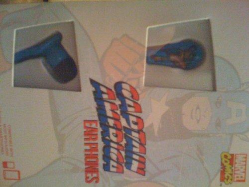 Ihip Mvf-Flat-Ca Marvel Avengers Captain America Vintage Printed Logo Flat Cord Series