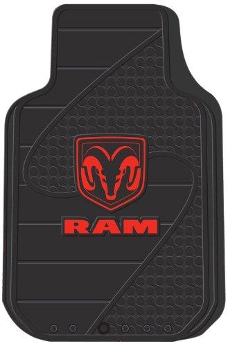 juego-de-2-universal-fit-front-goma-floor-mats-dodge-ram-factory-estilo-logo