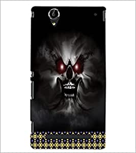 PrintDhaba Ghost D-4492 Back Case Cover for SONY XPERIA T2 ULTRA (Multi-Coloured)