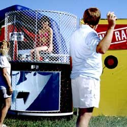 Blue Dunk Tank 500 Gallon 250lb Weight Limit