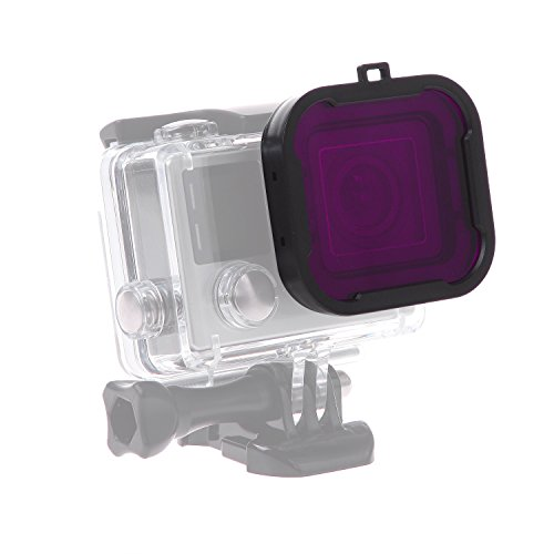 luxebell-scuba-dive-purple-filter-for-gopro-hero-4-black-silver-and-hero3-standard-housing