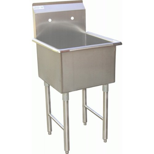 ACE 1 Compartment Stainless Steel Commercial Food Preparation Sink 18