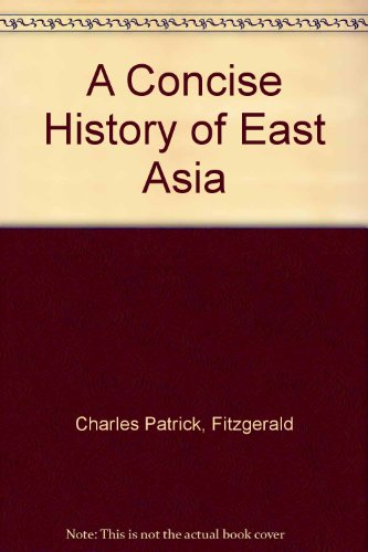 A Concise History of East Asia