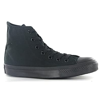 Converse ct all star hi black womens trainers for Converse all star amazon
