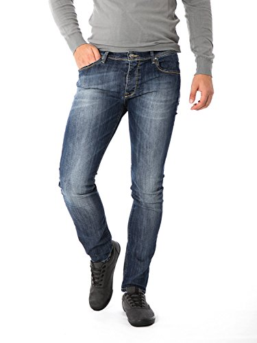 FIFTY FOUR - Jeans da uomo stretch hadar w34 denim