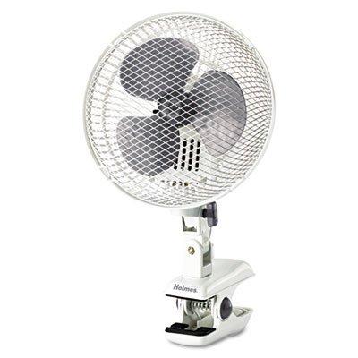 Holmes Hacp10W-U Oscillating Clip Fan, White